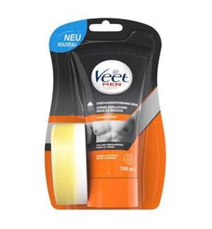 Veet Men Dusch-Haarentfernungscreme Power Effect - 150 ml