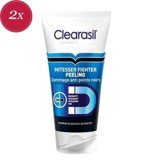 2er Pack Clearasil Mitesser Fighter Peeling - 2 x 150 ml