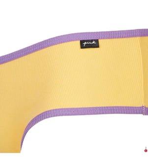 Shorty - Gelb und Violett