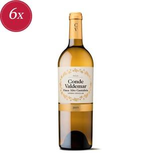 6x Conde Valdemar Finca Alto Cantabria Rioja DOCa 2019