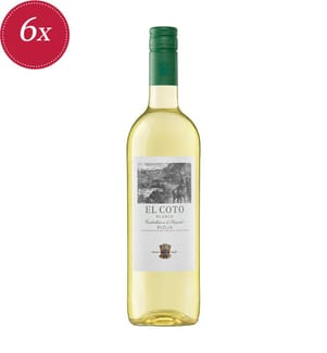 6x El Coto Blanco Rioja DOCa 2020