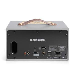 AUDIO PRO ADDON C5 - Kompakter kabelloser Wi-Fi Multiroom Lautsprecher - Grau