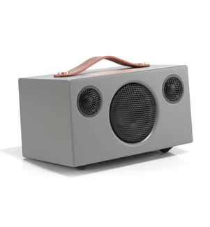 AUDIO PRO ADDON T3+ - Tragbarer kabelloser Bluetooth Lautsprecher - Grau