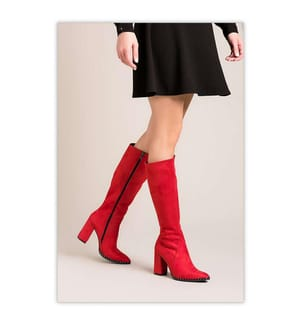 Stiefel - Rot