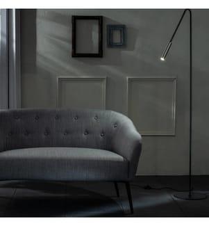 LED-Stehlampe Vega - Schwarz