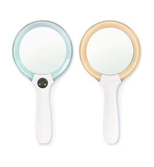 LED Spiegel - Lumi - Weiss