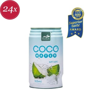 Tropical «Coco Water Natural» - 24 x 31.5 cl