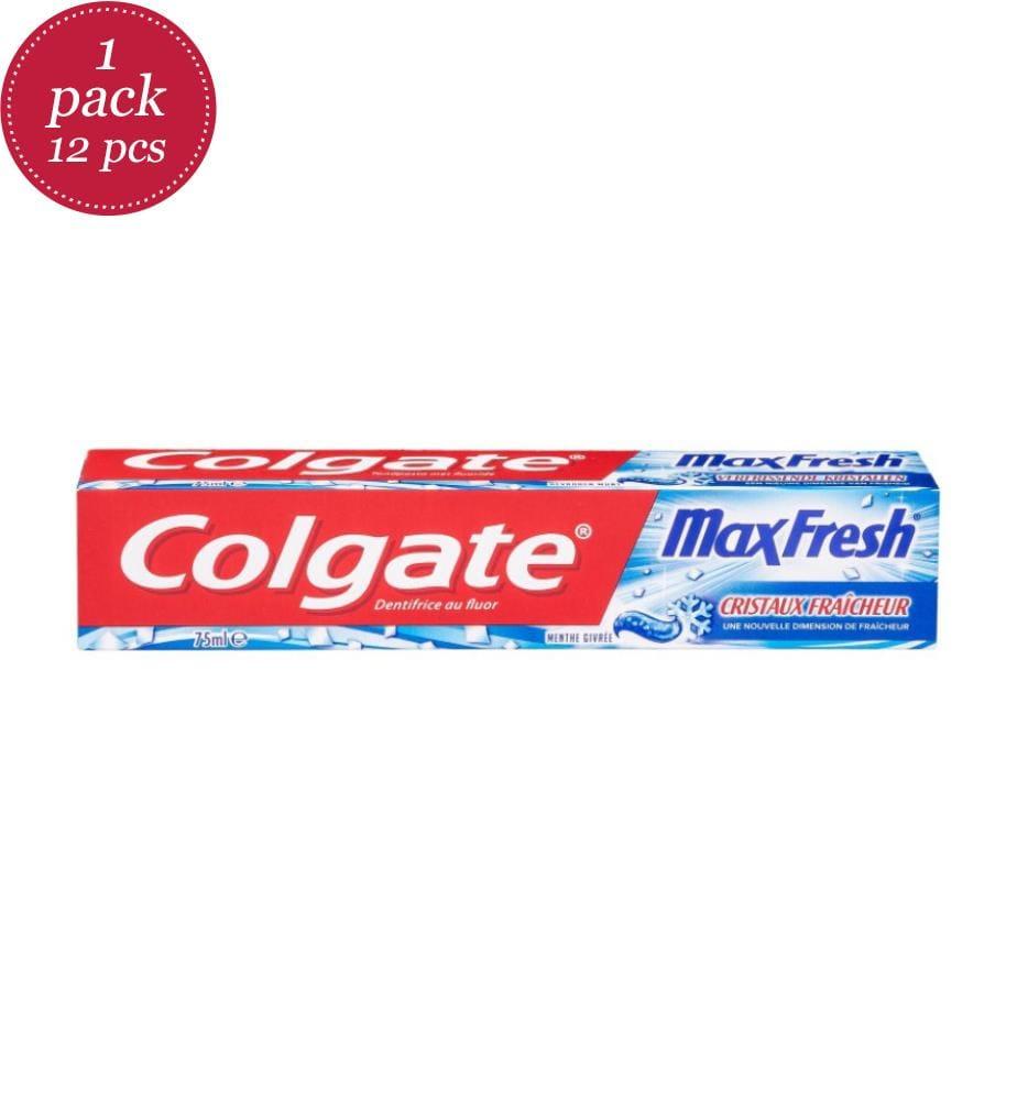 COLGATE - 12er-Set Zahnpasten Max Fresh Colgate