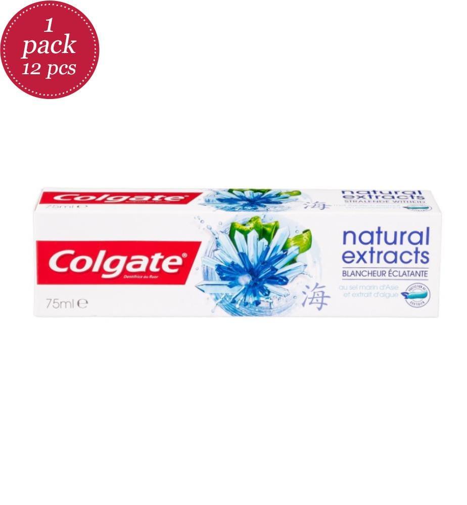 COLGATE - 12er-Set Zahnpasten Natural Extracts Colgate