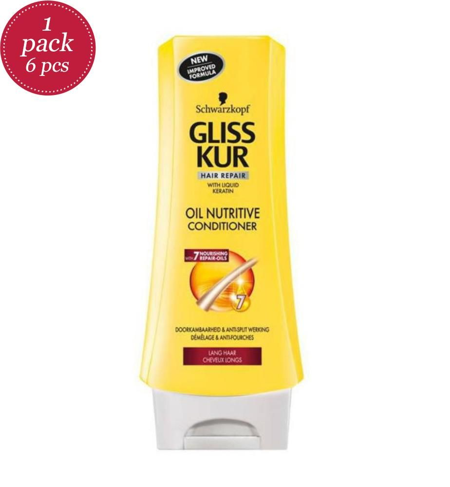 GLISS - Conditioner 200ml - Oil Nutritive - 6er-Set