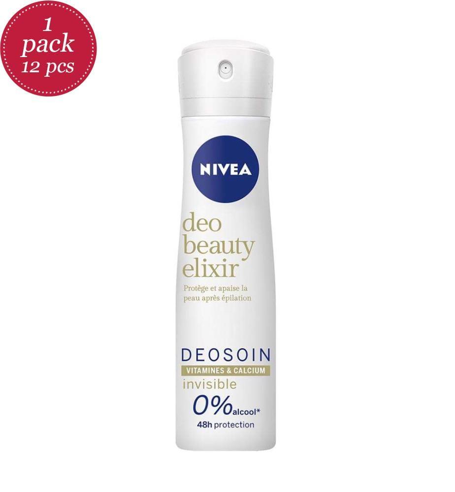 NIVEA - 12er-Set Beauty Elixir Deodorants - 150 ml
