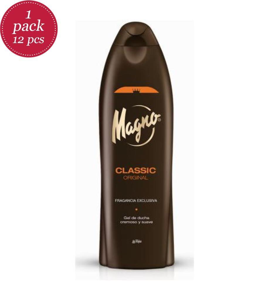 MAGNO - Duschgel 550ml - Classic - 12er-Set