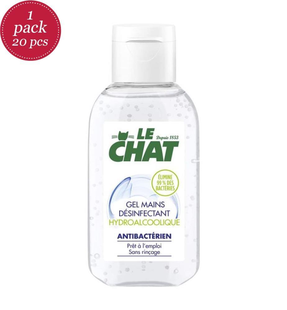 LE CHAT - 20er-Pack - Le Chat Handgel 50 ml Hydroalkoholisch - Exp 07-23