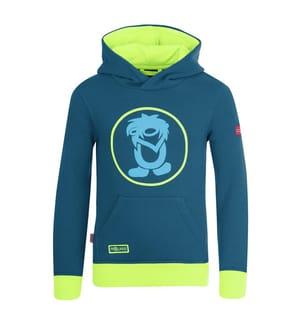 TROLLKIDS - Kinder Troll-Pullover - petrol/lime