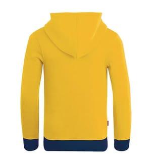 TROLLKIDS - Gilet Sortland - Blau und Gelb