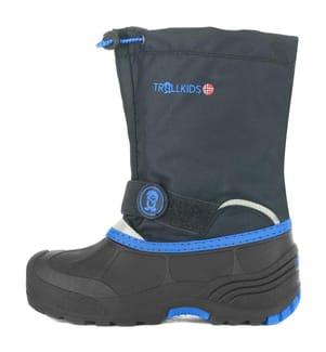 TROLLKIDS - Schnee-Halbstiefel Telemark XT - Grau und Blau