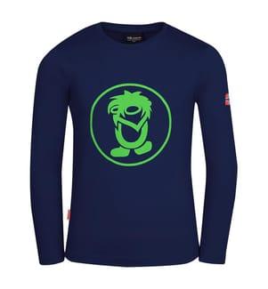 TROLLKIDS - Kinder Troll-Langarmshirt - navy/grün