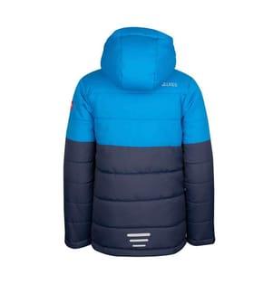 TROLLKIDS - Hemsedal Winterjacke für Kinder - Marineblau, Azurblau, Blau, Orange