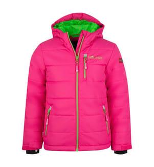 TROLLKIDS - Skijacke Hemsedal - Rosa und Grün