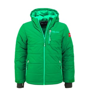 TROLLKIDS - Skijacke Hemsedal - Grün und Hellgrün