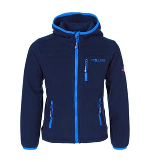 TROLLKIDS - Fleece-Gilet Stavanger - Marinblau und Blau