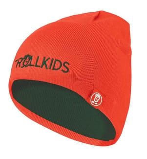 TROLLKIDS - Kinder Troll Beanie - Waldgrün, Orange