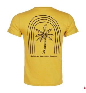 QUIKSILVER - T-Shirt - Gelb