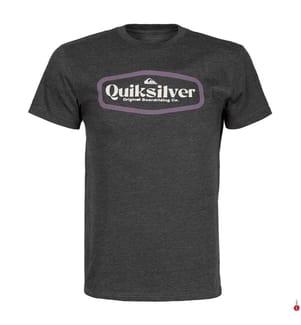 QUIKSILVER - T-Shirt New Theroy - Dunkelgrau