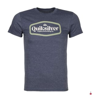 QUIKSILVER - T-Shirt New Theroy - Blau