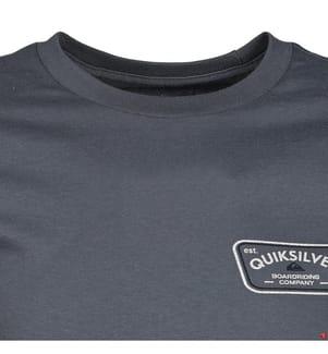QUIKSILVER - T-Shirt Coastal Walk - Dunkelgrau