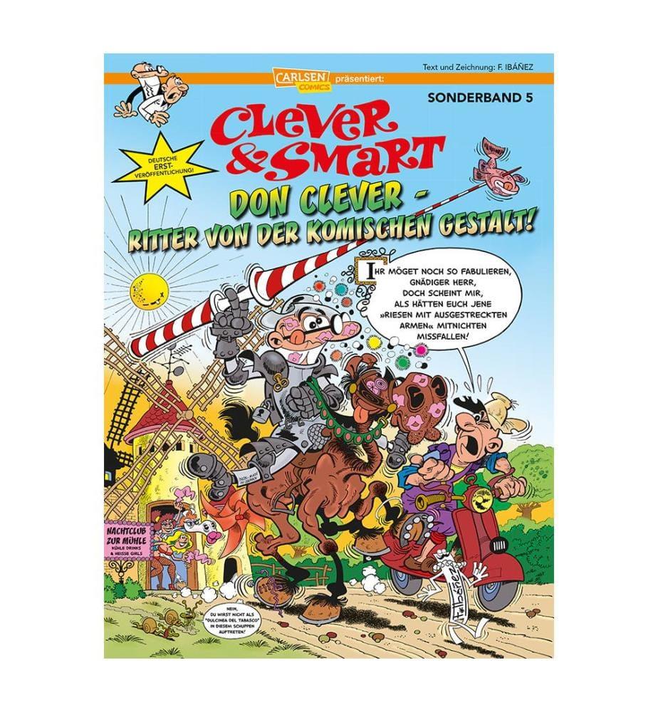 Clever und Smart Sonderband 5: Don Clever – Ritter von der komischen Gestalt!