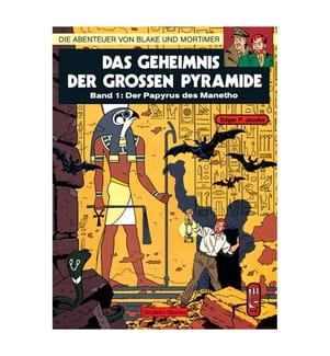Blake und Mortimer 1: Das Geheimnis der grossen Pyramide Teil 1 - Der Papyrus des Manetho