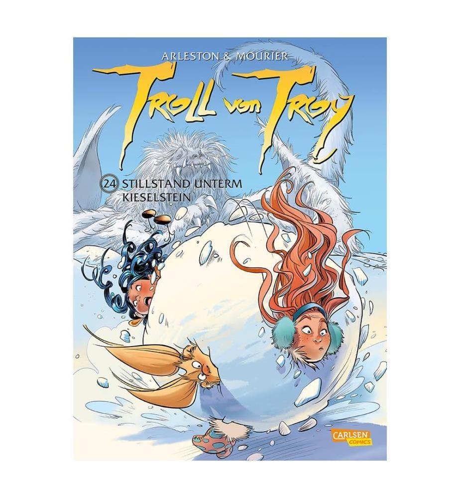Troll von Troy 24: Stillstand unterm Kieselstein