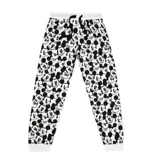 2-Teiliger Pyjama Mickey Monochrome - Schwarz und Weiss