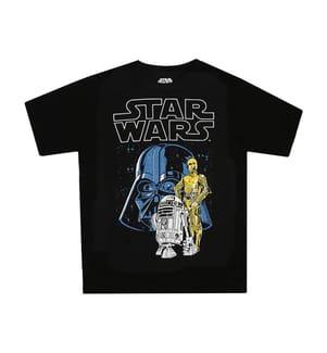 2-Teiliger Pyjama Vader & Droids Pattern - Multicolor