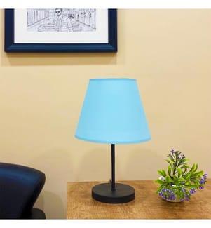 Tischlampe - Blau, Schwarz