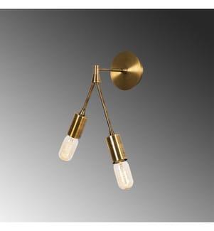 Hängelampe Dartini - Gold