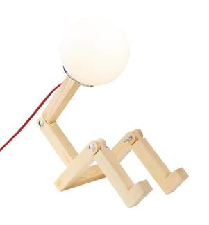 Tischlampe - Naturton
