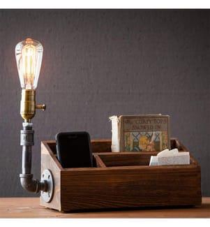 Designer-Lampe - Schwarz