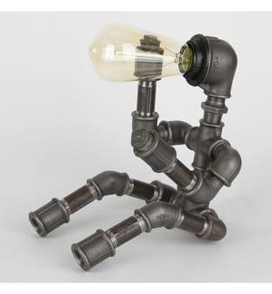 Tischlampe - Grau