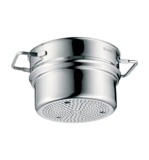 Dampfgarkorb 20 cm, Silber