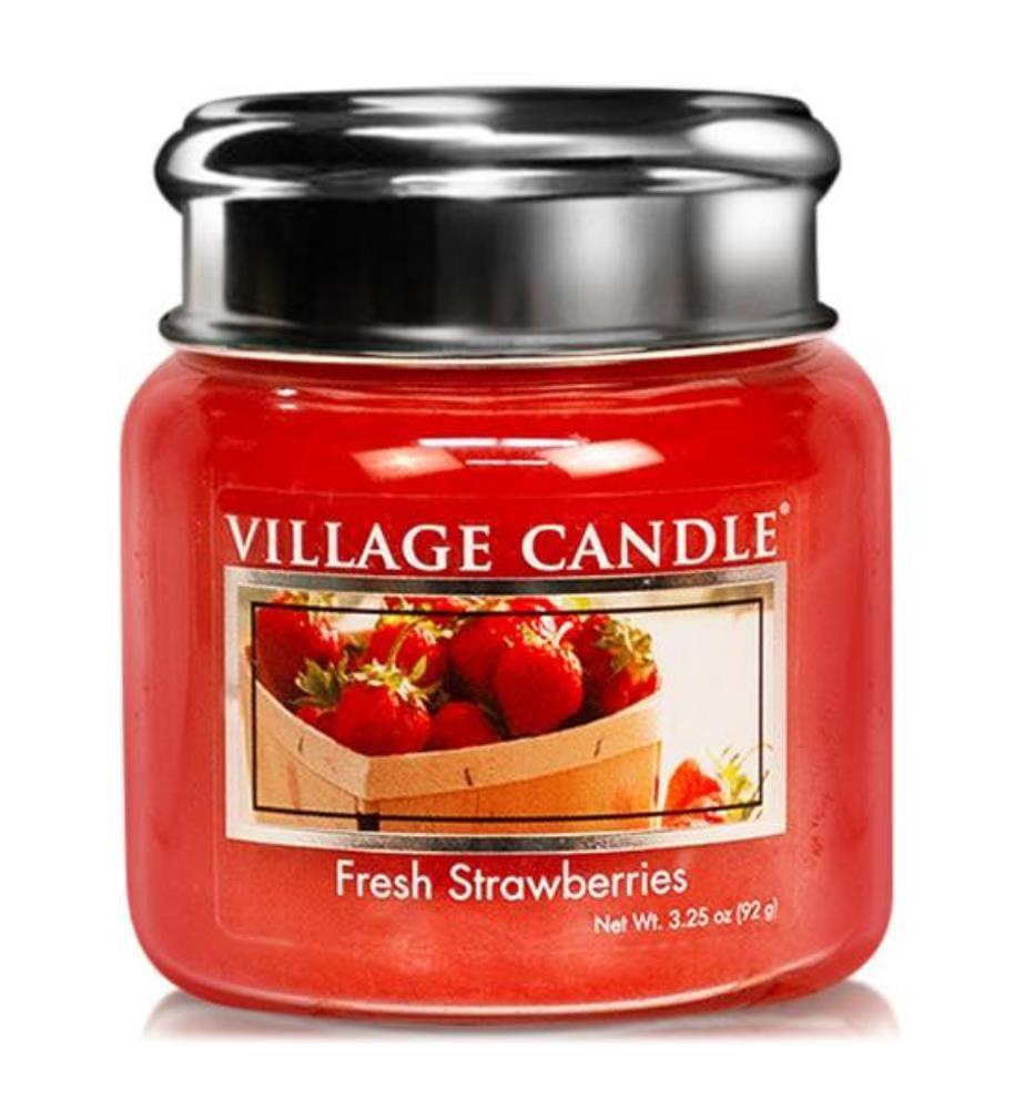 Fresh Strawberries 92g, Kerze im Glas