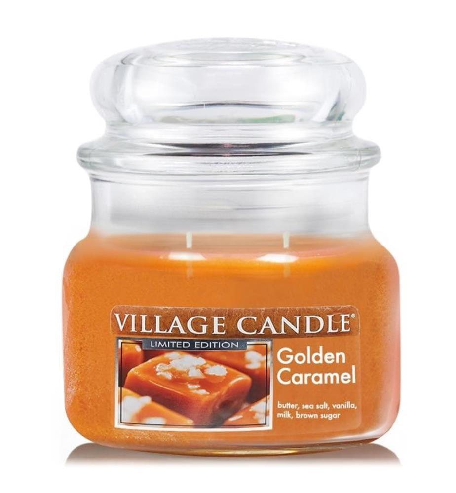 Golden Caramel 312g (2-Docht), Kerze im Glas