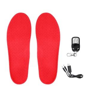 Beheizte Einlegesohlen Ultalight 3 Heizstufen - Rot