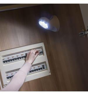 LED-Lampe Motion Sensor - Weiss