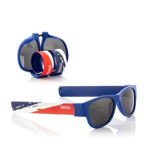 Klappsonnenbrille France - Blau