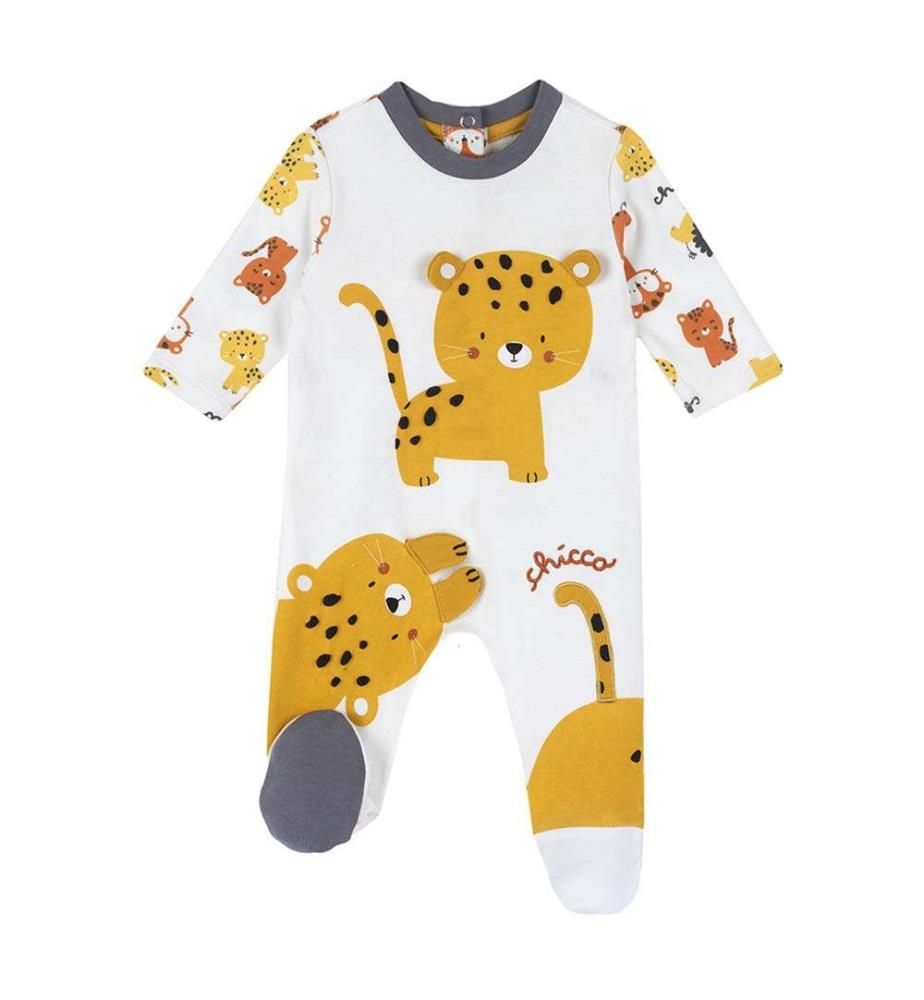 CHICCO - Baumwollpyjama mit Tigerbären