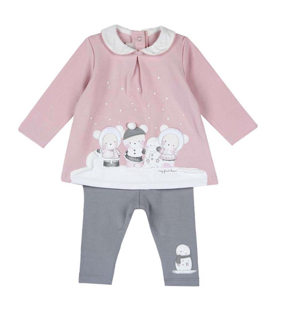 CHICCO - Set bestehend aus einem T-Shirt und einer Leggings