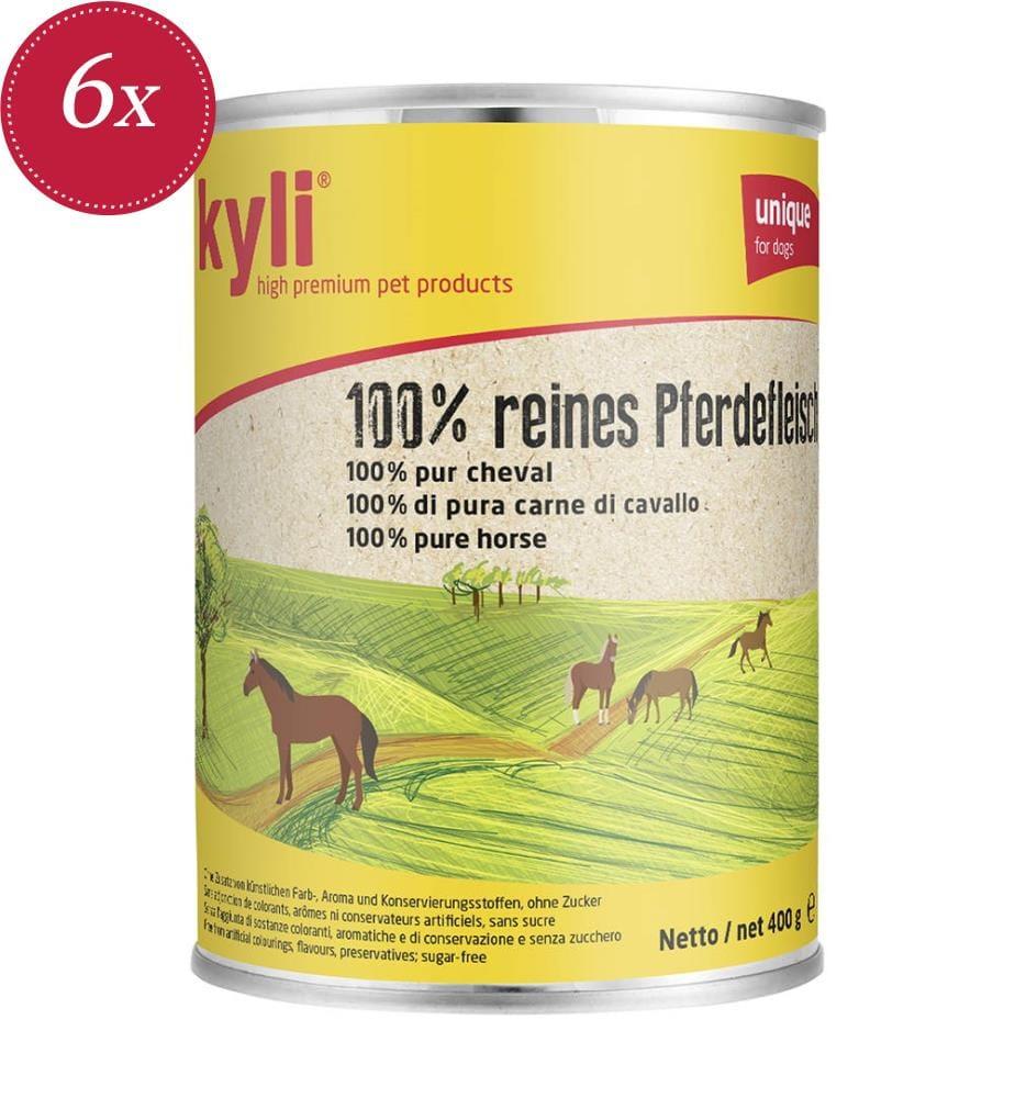 kyli 100 % Pferdefleisch - 6 x 800 g