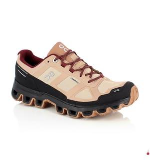 ON RUNNING - Trail Running-Schuhe Cloudventure Waterproof, Beige und Hellbeige